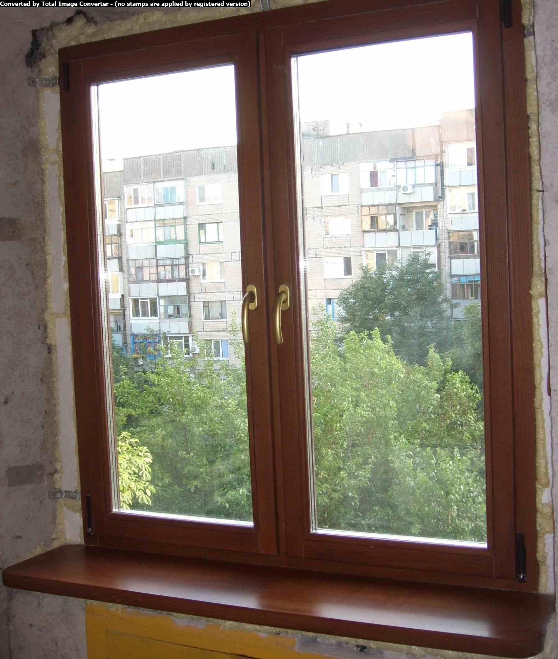 Металлопластиковые окна на балкон..